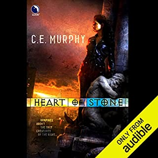 Heart of Stone     The Negotiator Trilogy, Book 1              By:                                                                                                                                 C. E. Murphy                               Narrated by:                                                                                                                                 Eve Bianco                      Length: 13 hrs and 44 mins     988 ratings     Overall 3.8