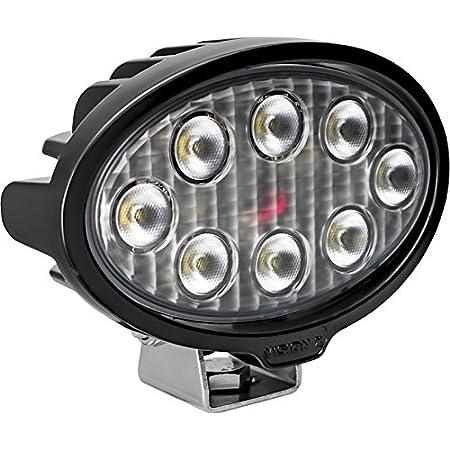 Vision X Lighting 9911335 Vwo050840 Vl Oval Series Arbeitsscheinwerfer 8 Led 40w 4224 Lumen Auto