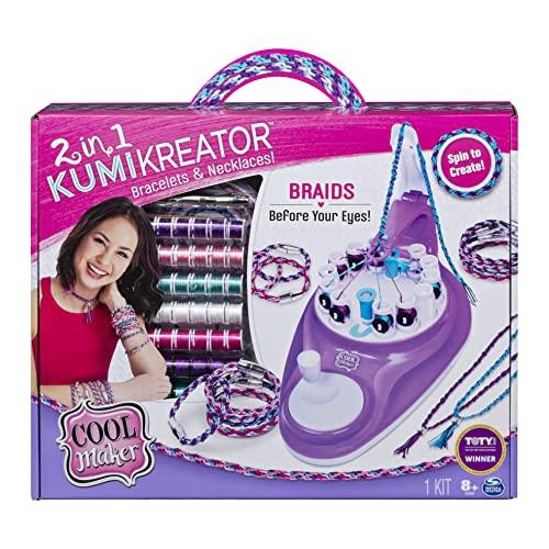 Cool Maker 2-in-1 KumiKreator Necklace & Friendship Bracelet Maker Activity Kit