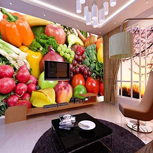 Fotobehang, vlies, 3D, wandmontage, voor keuken, eetkamer 350*245 350*245