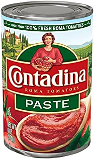 Contadina Canned Roma Style Tomato Paste, 6 oz (Pack of 12)