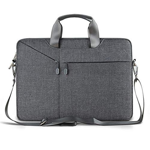 Yinghao Custodia per Laptop 17 3 15 6 15 4 14 1 13 3 Borse a Tracolla per MacBook Air 13 Custodia per Notebook Impermeabile per MacBook PRO 13@15,4 Pollici_Federazione Russa_Grigio