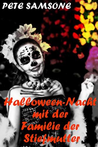 Halloween-Nacht mit der Familie der Stiefmutter