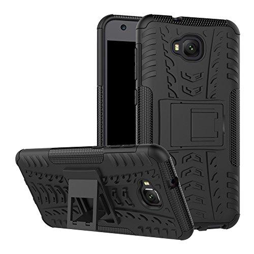Capa para Asus Zenfone 4 Selfie Lite, capa híbrida para Asus Zenfone 4 Selfie Lite, camada dupla à prova de choque, capa rígida híbrida resistente com suporte para Asus Zenfone 4 Selfie Lite de 5,5 polegadas [ZB553KL]