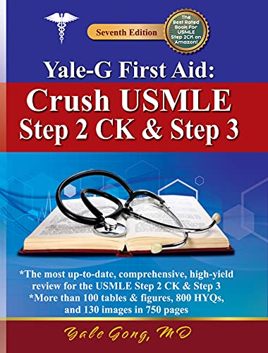Amazon Com Yale G First Aid Crush Usmle Step 2 Ck And Step 3 7th Edition Ebook Gong Md Yale Tsintou Md Magdalini Warner Md Matthew Kindle Store