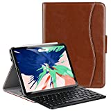 Ztotop Case Keyboard for iPad Pro 12.9 3rd Gen 2018 [Supports Apple Pencil 2nd Gen Charging], Magnetically Detachable Wireless Keyboard Folio Cover with Auto Wake/Sleep