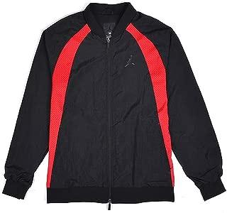 Jordan Nike Air Mens Wings Muscle Jacket Bred Black/Red Large
