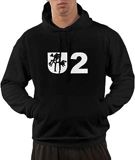 NA Mens U2 - Joshua Tree Soft Black Hooded Sweatshirt