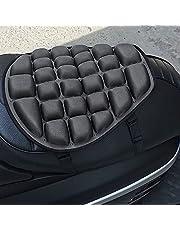 Motorfiets zitkussen luchtkussen, motorfiets koelpad, antislip PU-materiaal, drukontlasting, universeel, voor sport touring de meeste motorstoelen