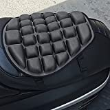Cojín de asiento de moto cómodo, 3D, antideslizante, cojín no inflable,...