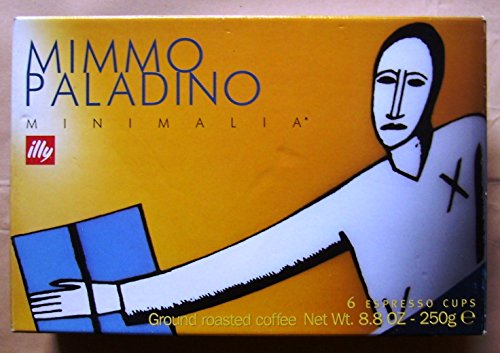 Illy Art Collection–Mimmo Paladino–minimalia (2000Edition)–6Espressotassen Geschenk Set Box