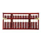Explea Estilo Vintage Chino Vintage 13 Dígitos Ábaco De Madera Soroban Matemáticas Herramientas De Aprendizaje para Niños Pulido General Durable Profesional Good