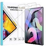 Benazcap Schutzfolie für Neu iPad Air 4 10.9 Zoll 2020 Panzerglas, 9H Gehärtetem Glas Panzerglas Bildschirmschutzfolie, kompatibel mit iPad Pro 11 2018/2020,2 Stück