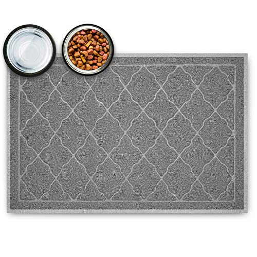 Tosenway Pet Feeding Mat for Food and Water Flexible...