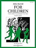Bela Bartòk for Children, Volume 2 Piano