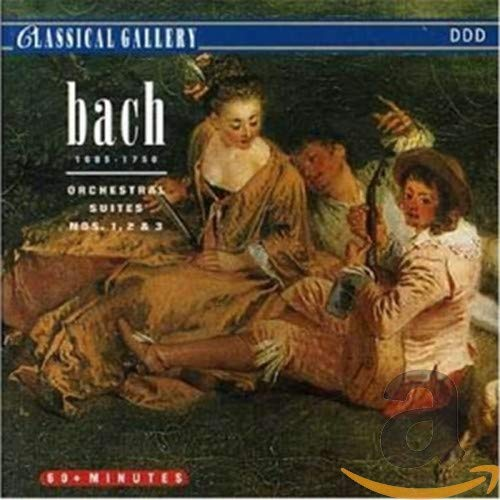 J.S. Bach - Orchestral Suites 1,2 & 3