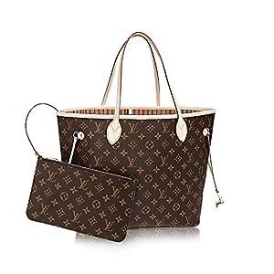 Fashion Shopping Louis Vuitton Monogram Canvas Neverfull MM M40995 Beige