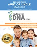 My Forever DNA - Aunt or Uncle DNA Test Kit Includes All Lab Fees & Shipping to Lab 46 (Genetic) DNA Marker Test Accurate & Confidential