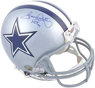 tony dorsett signed helmet