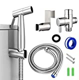 Handheld Bidet Sprayer for Toilet, 7/8' Stainless...