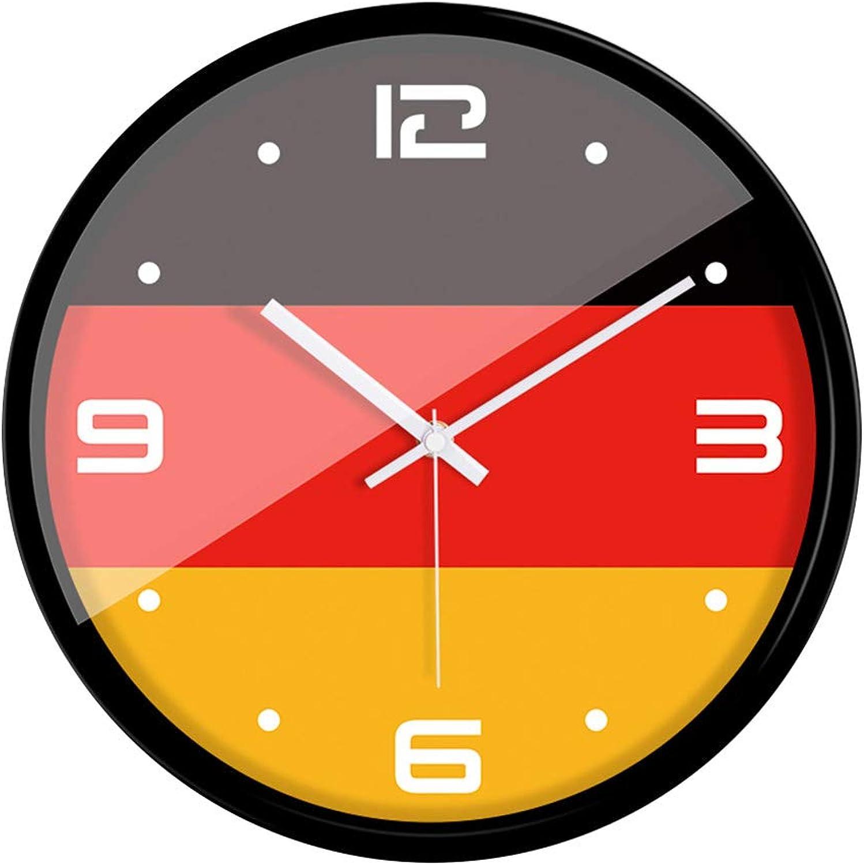 a precios asequibles WUDAXIAN Relojes de Parojo Relojes Relojes Relojes Cuarzo Silencio Sin Hacer Tictac FáCil De Leer Reloj De Parojo Hora EnergíA Precisa De Ahorro Y Metal Duradero para La Sala De Estar Cocina Bar De La Escuela Hotel  en stock