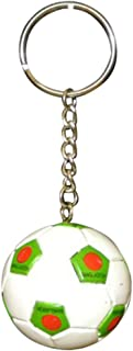 Bangladesh Football Soccer Futbol Ball KeyChains KeyRings