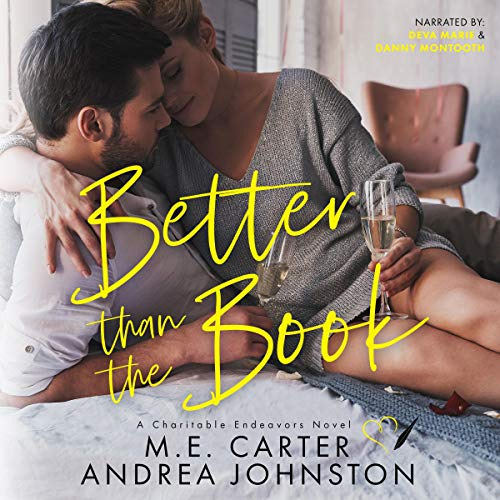 Better Than the Book Audiobook By M.E. Carter,                                                                                        Andrea Johnston cover art