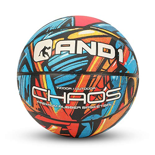 Buy Discount AND1 Chaos Rubber Basketball: Game Ready, Official Regulation Size
