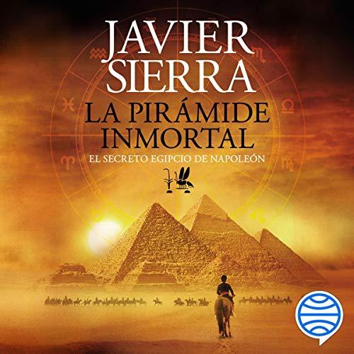 Diseño de la portada del título La pirámide inmortal