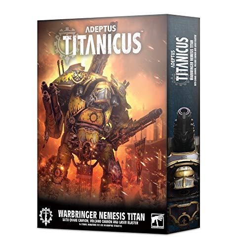 Games Workshop Adeptus Titanicus: Warbringer Nemesis Titan with Quake Cannon