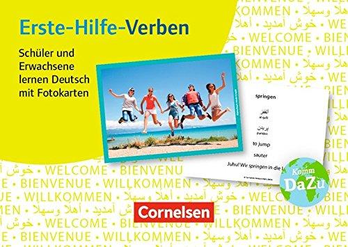 Deutsch lernen mit Fotokarten - Sekundarstufe I/II und Erwachsene: Erste-Hilfe-Verben: 100 Fotokarten