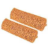 Yocada Sponge Mop Replacement Refill Head Home Commercial Use Tile Floor Bathroom Garage Cleaning Easily Dry Wringing 2 PCS