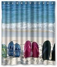IrYuee Custom Flip Flops - Sandals Shower Curtain 60x72 inches