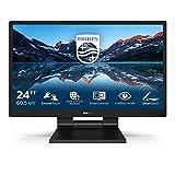 Philips 242B9T- Monitor Táctil para PC de 24' FHD (Portátil IPS, resolución 1920x1080, LowBlue Mode, VESA, Altavoces, HDMI, Displayport, USB)