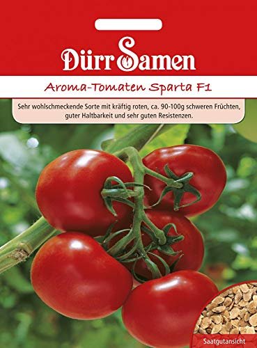 Dürr Samen 4147 Tomate Sparta F1 (Tomatensamen)