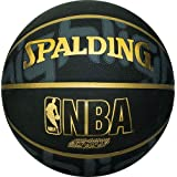 SPALDING(スポルディング) バスケットボール ゴールドハイライト 84-193J ブラック/ゴールド 6号球 バスケ バスケット