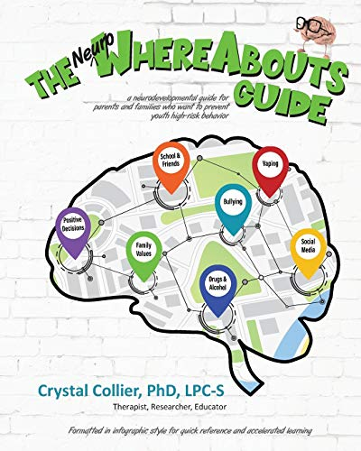 Compare Textbook Prices for The NeuroWhereAbouts Guide: A Neurodevelopmental Guide for Parents and Families Who Want to Prevent Youth High-Risk Behavior  ISBN 9781735295701 by Collier PhD, Crystal