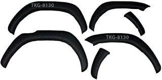 K1AutoParts Matt Black Fender Flares Over Wide Body Wheel Arches OEM Style For (4 WD) Toyota Hilux Revo Pickup M70 M80 201...
