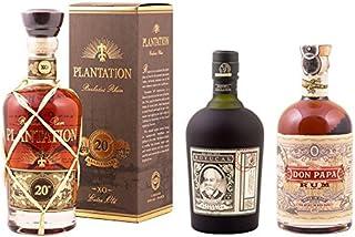 Botucal 12 Jahre, Plantation XO & Don Papa im Rum 3er Set