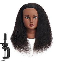 Image of Traininghead 100% Real Hair...: Bestviewsreviews