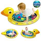 ibestby Inflatable Tummy Time Water Mat Fun Inflatable Water mat for Newborn Boys and...