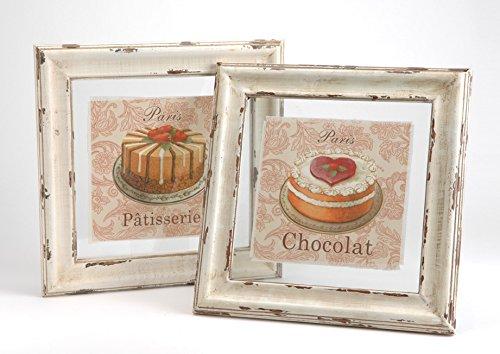 Paire cadres Patisserie/chocolat