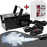 Monzana Nebelmaschine mit Nebelfluid Smoke Fog Effekt Heimnebelmaschine I 400W I mit Fernbedienung I 300ml Tank