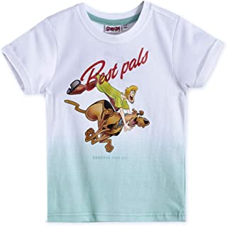 Scooby-Doo Boys T-Shirt,white/Light Blue