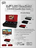 FC 16 Go System Charcoal Black Portable SNES Game Player with Gaming Monitor