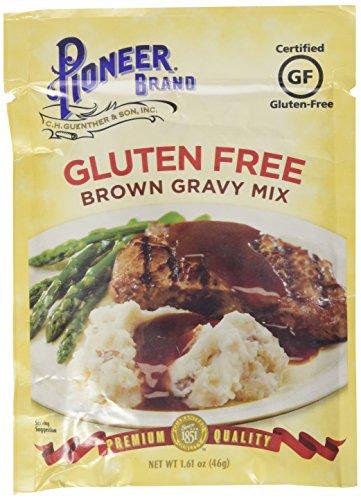 Pioneer Brand Gluten Free Brown Gravy Mix 1.61 Oz (Pack of 6)