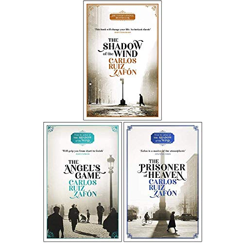 Cemetery of Forgotten Series 3 Books Collection Set By Carlos Ruiz Zafon (The Shadow of the Wind, The Angel's Game, The Prisoner of Heaven)