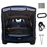 Obobb Tent for Truck Bed,Car Truck Tent Rainproof Sun Protection Portable for SUVs Camping Removable Awning, Rainfly
