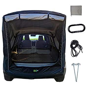 Tente de voiture, auvent de voiture, tente de camping, tente pour SUV, minivan, camion, remorque, canopy, imperméable, coupe-vent, pour l'extérieur, plage, arrière-cour, voyage
