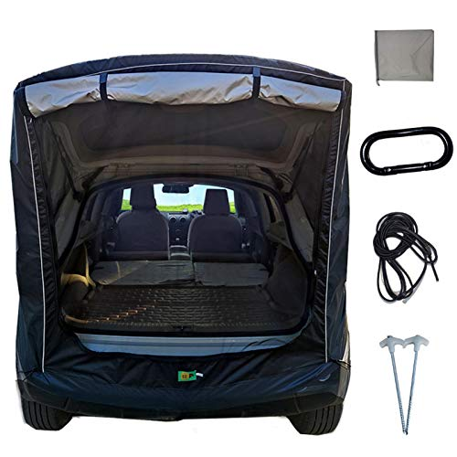 SUV universal self-driving car tail extension tent, trunk tail car tent...